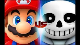 Mario Vs Sans (Rap Battles Of Video Games All-Stars)(Season 5)