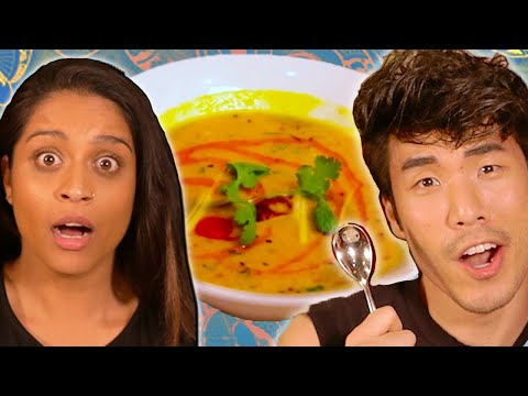 The Try Guys 850 Indian Food Challenge ft. Lilly Singh