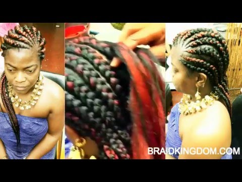 Easy way to do Ghana Braids