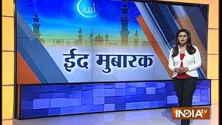 India Celebrates Eid With Fervor, Gaiety | India Tv