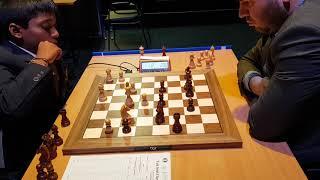 Praggnanandhaa vs Mamedyarov | Tata Steel Chess India Blitz 2018