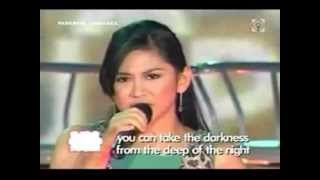 Sarah Geronimo sings 'Making Love Out of Nothing at All' on ASAP