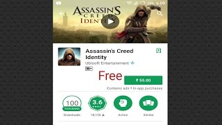 How to download assassins creed identity for free android