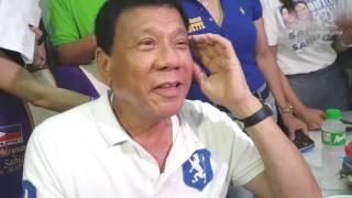 Duterte wants 'beautiful' Leni Robredo as 'assistant president'