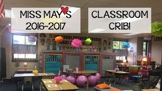 Miss May's Classroom Crib 2016-2017 Reveal