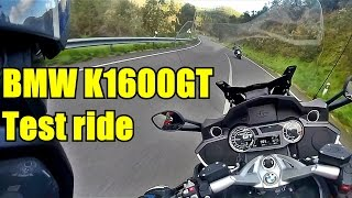 BMW K1600GT 2017 test ride. Albufeira