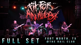 FIT FOR AN AUTOPSY - Full Set {HD} LIVE 2016 @ The Rail Club