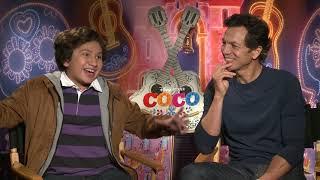 "COCO Star Anthony Gonzalez Sings ""Un Poco Loco"""