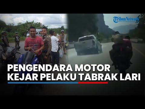 Xxx Mp4 Viral Video Pengendara Motor Bonceng Polisi Kejar Pelaku Tabrak Lari 3gp Sex