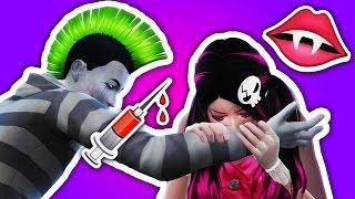 BITTEN BY A VAMPIRE // The Sims 4: Monster High (Part 59)