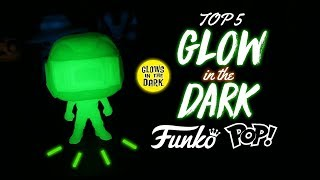 Top 5 Glow in the Dark Funko Pops! (Chases, Exclusives)