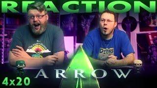Arrow 4x20 REACTION!!