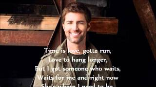Josh Turner - Time Is Love Lyrics
