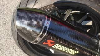 Akrapovic Comparison - Honda CB500F