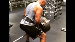 The Rock training for 'Fast 8' & 'Ballers' 2015!!