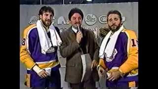 Opening Segment to Los Angeles Kings Wrap-Up (Apr. 7, 1982)