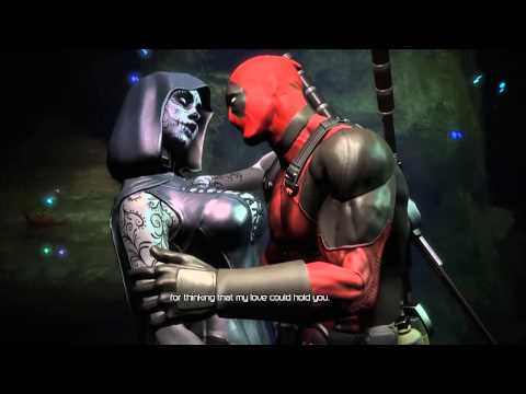 Xxx Mp4 Deadpool Cutscene Deadpool And Death Lady Hot Romance In Boat HD 3gp Sex