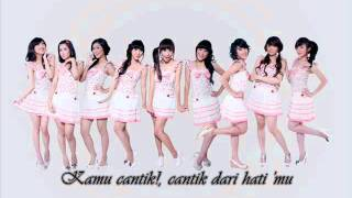 Beautiful - Cherry Belle ( Cantik ) With Lyrics