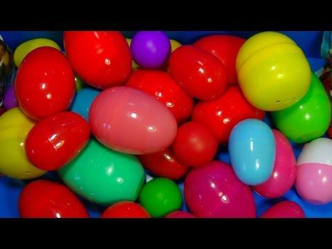 30 Surprise Eggs Disney CARS MARVEL Spider Man SpongeBob HELLO KITTY PARTY ANIMALS LittlestPetSh