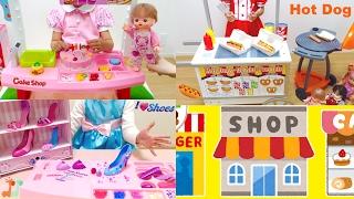 お店屋さんごっこ 人気動画まとめ 連続再生 メルちゃん 70cleam / Shopping Time , Mell-chan Doll Popular Videos