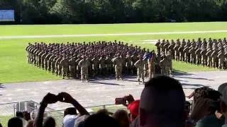 Ft Jackson 1-61 Infantry Bn Family Day Ceremony - 17 AUG 2016