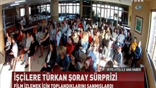 """BATTAL İLGEZDİ'DEN KADIN İŞÇİLERE """"SULTAN"""" SÜRPRİZİ"""