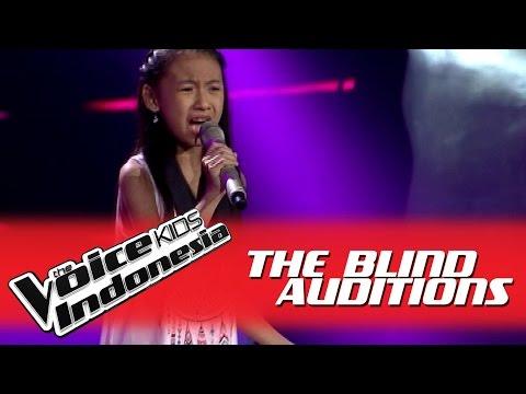 "Joceline ""Bersamamu"" I The Blind Auditions I The Voice Kids Indonesia 2016"