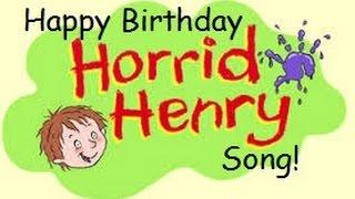 Horrid Henry birthday surprise party | Horrid Henry Happy Birthday Song