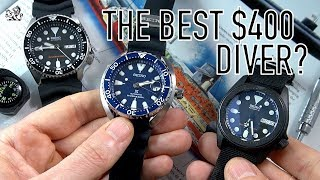 Best $400 Seiko Dive Watch? Why Everyone Was WRONG: Mini-Turtle Review