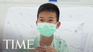 Thailand Soccer Players Freed From Cave Release Thank You Video | TIME