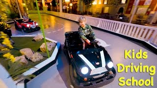 Indoor Playground Driving School for Kids (cars family fun)