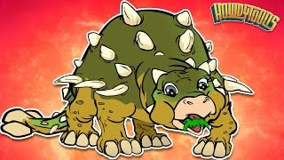 Ankylosaurus Song Sing-Along | Dinosaur songs from Dinostory by Howdytoons