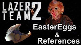 LazerTeam 2 | EASTER EGGS, REFERENCES & FUN FACTS | EruptionFang