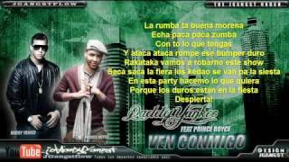 Daddy Yankee Ft Prince Royce - Ven Conmigo con Letra HD Reggaeton 2011 Nuevo