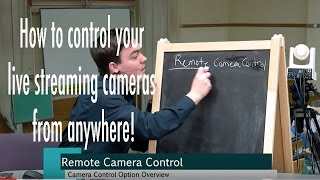 How to Use Your Live Streaming Cameras from Anywhere