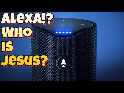 Xxx Mp4 WTF Amazon S Alexa Says Jesus Christ Is Fictional Muhammad Wasn T 3gp Sex