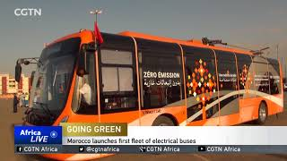 Morocco launches first fleet of electrical buses