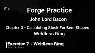 Backsmithing - Back To The Basics - B1E4 - Weldless Ring