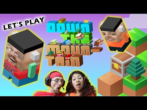 Lets Go DOWN THE MOUNTAIN w/ FGTEEV Duddy & Mommy  (Funny Gameplay Fun that's Fun to Watch) #stooges