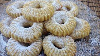 Semolina Cinnamon-Date Cookies (Ka