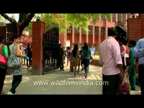 Girls of Gargi College, Delhi