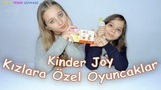 Kinder Joy Kızlara Özel Oyuncaklar Açıyoruz - Eğlenceli Çocuk Videosu - Funny Kids Videos