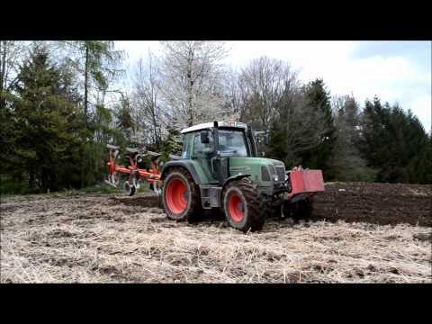 Fendt Farmer 412 Vario & Kuhn Labour