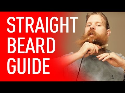 How To Straighten Your Beard   Eric Bandholz