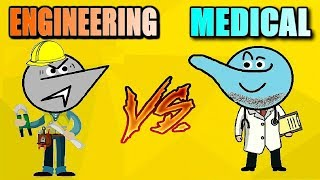 Engineering Vs Medical Students Life !