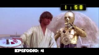 Star Wars: la saga completa en solo 4 minutos