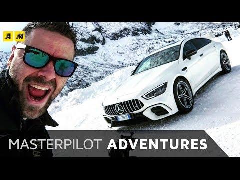 AMG GT 4 Door al CORSO GHIACCIO NEVE Mercedes Benz
