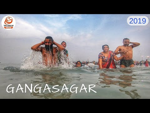 Xxx Mp4 Gangasagar Mela 2019 Makar Sankranti Ganga Snan Gangasagar Sea Beach Cinematic Full HD 1080P 3gp Sex