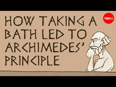 Xxx Mp4 How Taking A Bath Led To Archimedes Principle Mark Salata 3gp Sex
