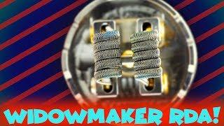 The WIDOWMAKER RDA By Vandy Vape & El Mono Vapeador!